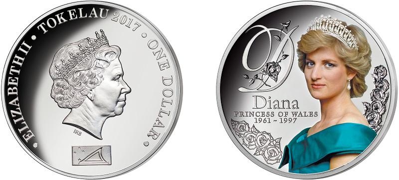 Eneste mynt godkjent av Dianas familie