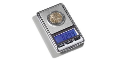 LIBRA mini digital myntvekt -lommestr. 45x76x13mm