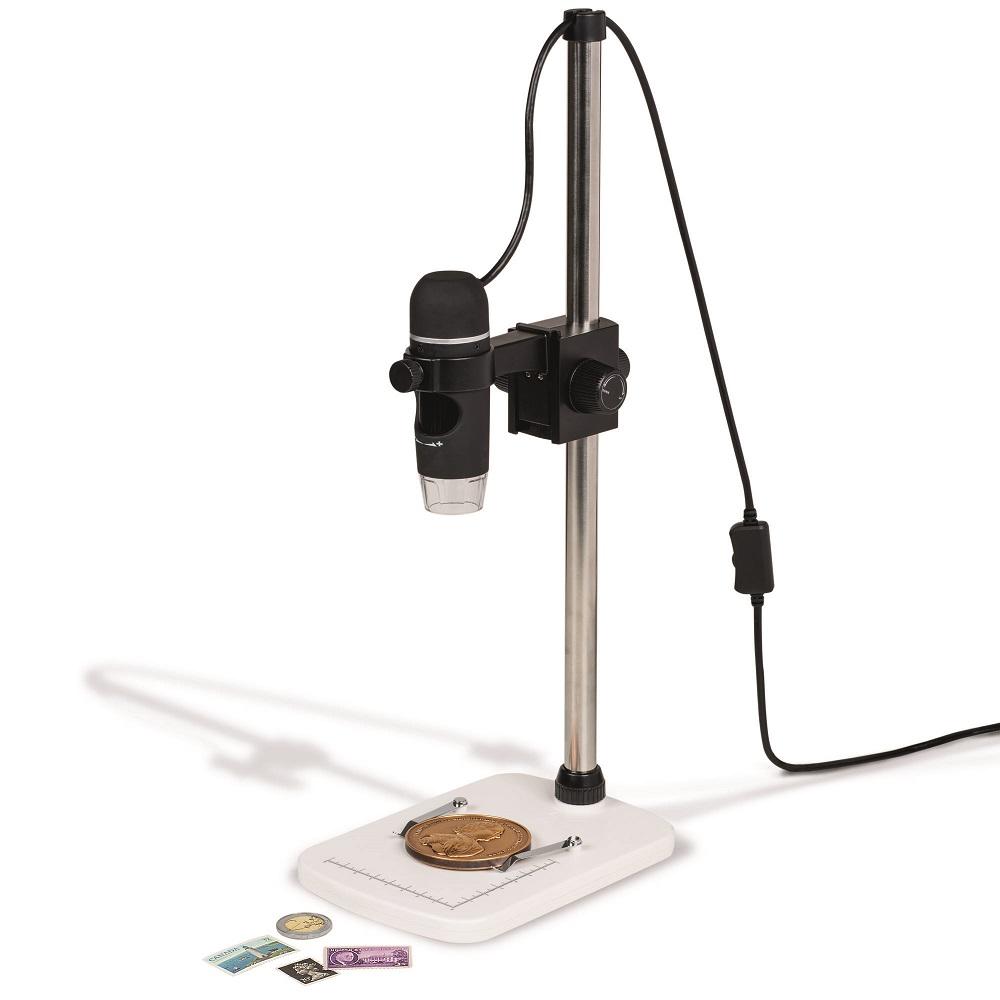 Digitalt mikroskop med stativ
