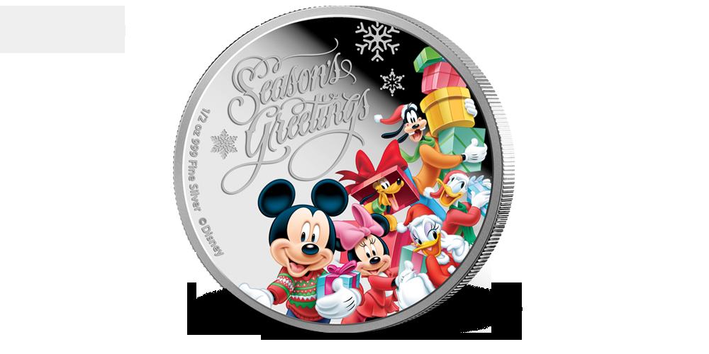 Disney julemynt - klar til å henges på juletreet!