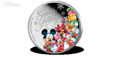 Disney's julehilsen, 1$