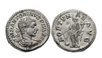 Elagabalus Denarius mynt