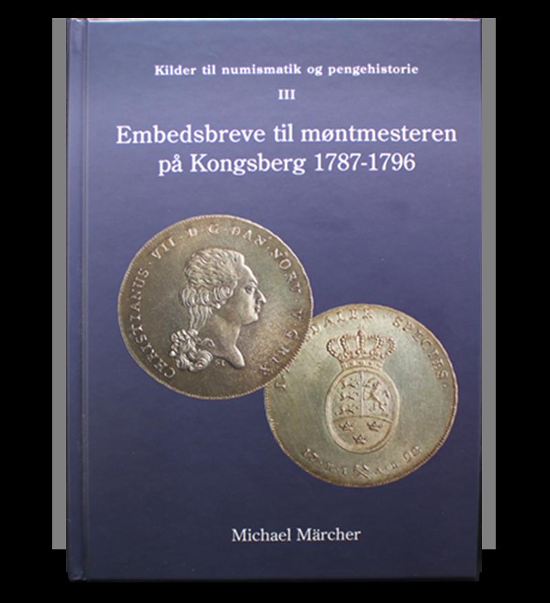 Bok Embedsbreve til møntmesteren
