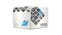 Samlemappe til myntsettet Europas mynter