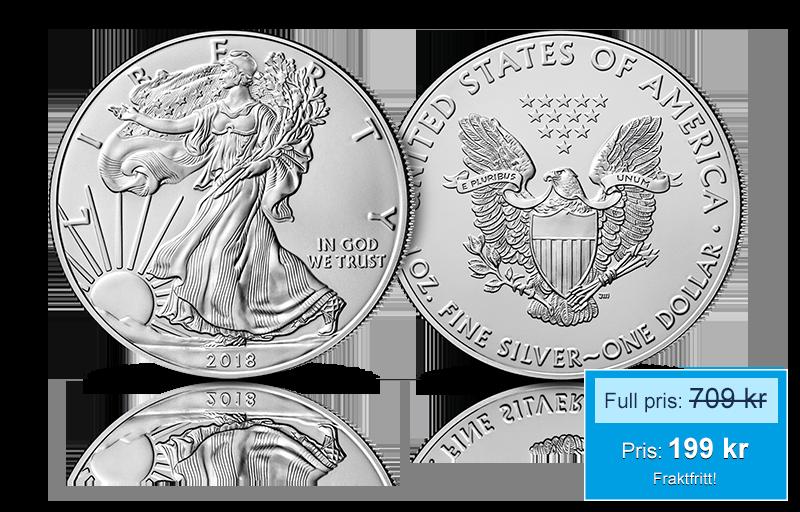 "Amerikanske ""Silver Eagle"" 2018"