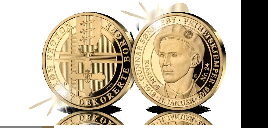 Frihetskjemperen på historisk gullmedalje