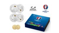 Frankrike fotball EM mynt 2016