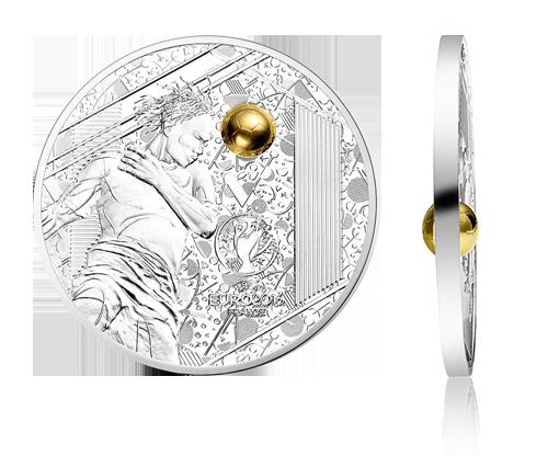 Frankrike Fotball-EM sølvmynt 2016