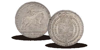Frederik IV ryttermark 1723