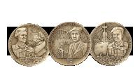 Medaljesett i bronse
