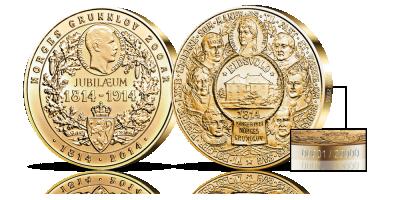 Grunnlovsmedaljen jubileum 1814-2014