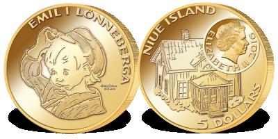 Gullmynt Emil på Lønneberget