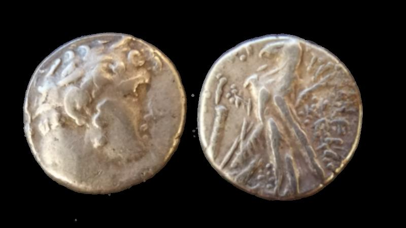 Halv shekel fra Tyr - judasmynten