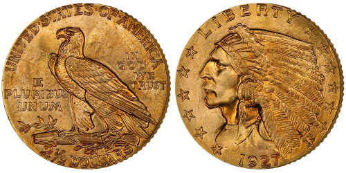 Indian_Head_Mynt_gull_Eagle