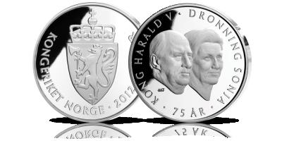 Jubileumsbrev til Kong Harald Vs 75-årsdag