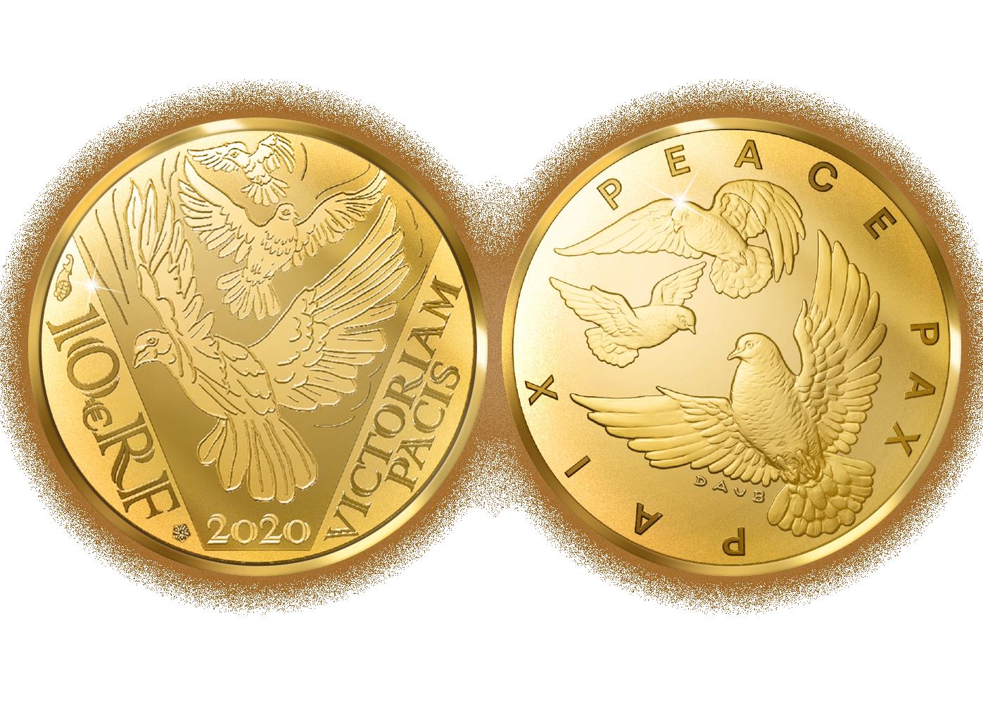 Prestisjemynt i rettferdig gull feirer Frigjøringsjubileet