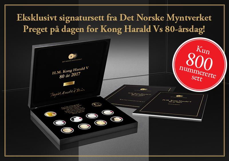 Enorm interesse for Kong Harald V