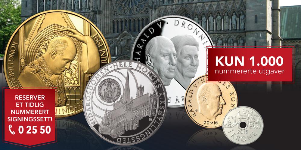 Bestselger fra Det Norske Myntverket