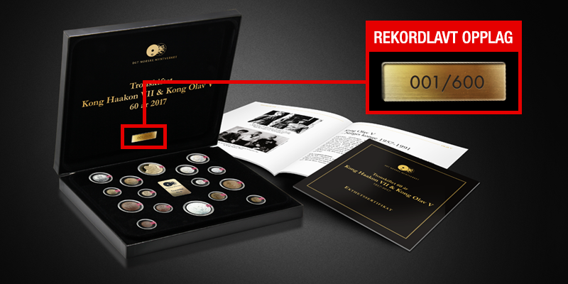 Rekordlavt opplag på kun 600 jubileumssett