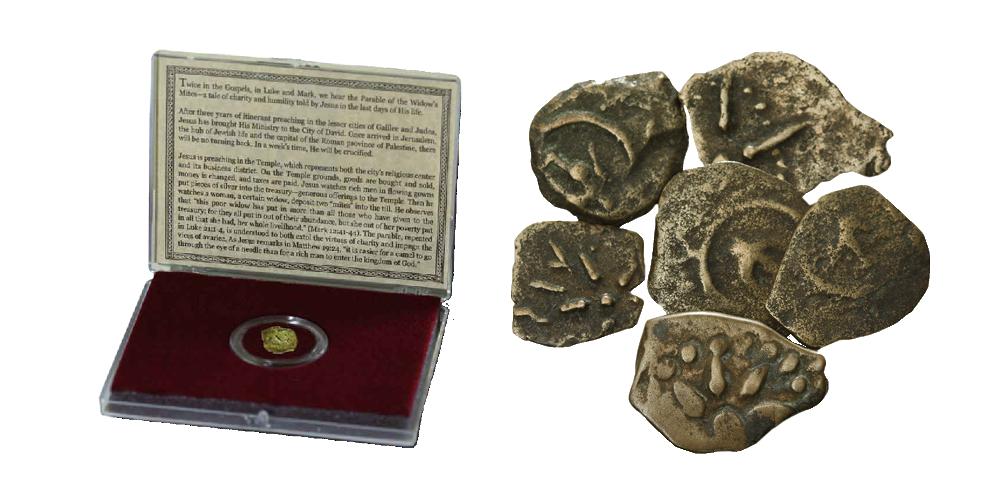Over 2000 år gammel originalmynt: Enkens skjerv