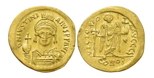 Keiser Justinian I av Det bysantinske rike