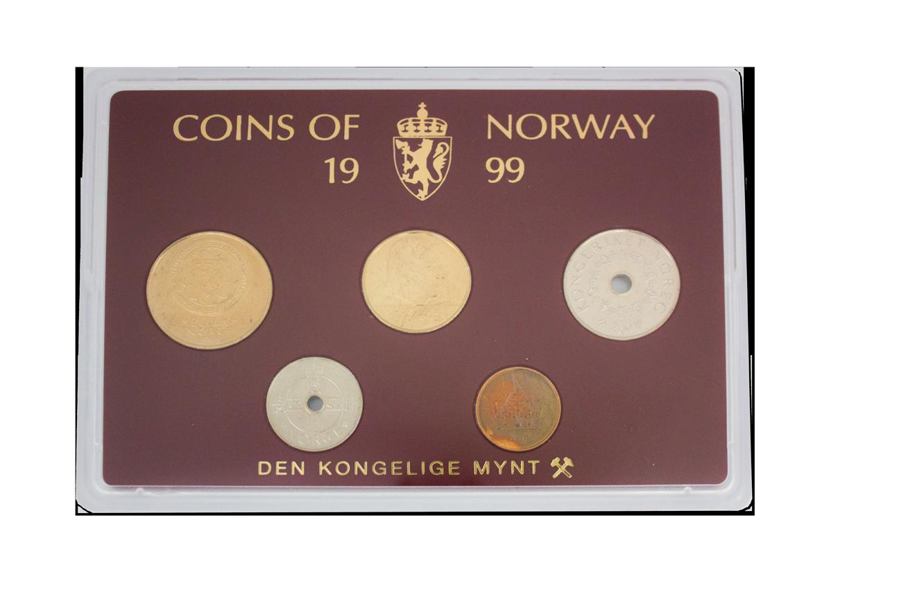 Klassisk myntsett 1999