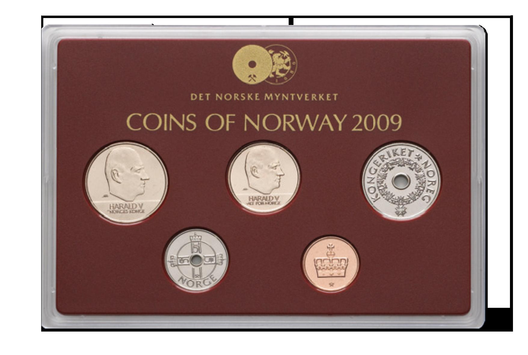 Det noorske årssett fra 2009