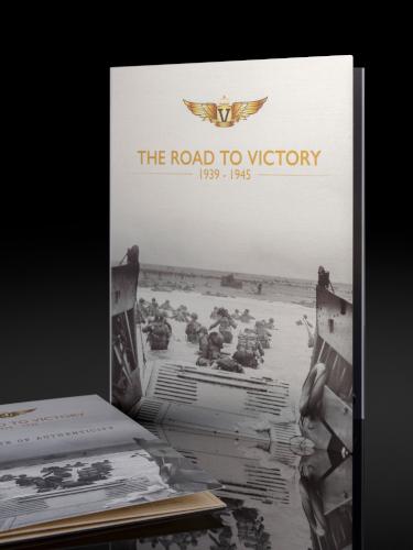 Folder og samlemappe til Road to Voctory settet