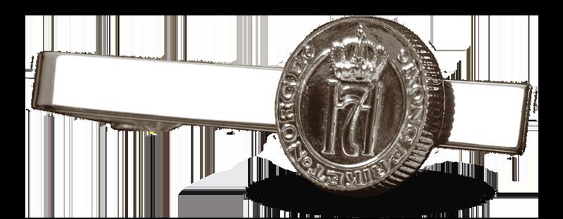 Slipsnål med Kong Haakon VIIs monogram