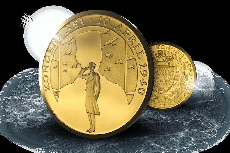 Gullmedaljen som hører til samlingen din!