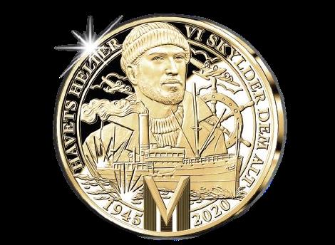 Krigsseilermedaljen i gull