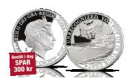 Krigsseiler sølvmynt