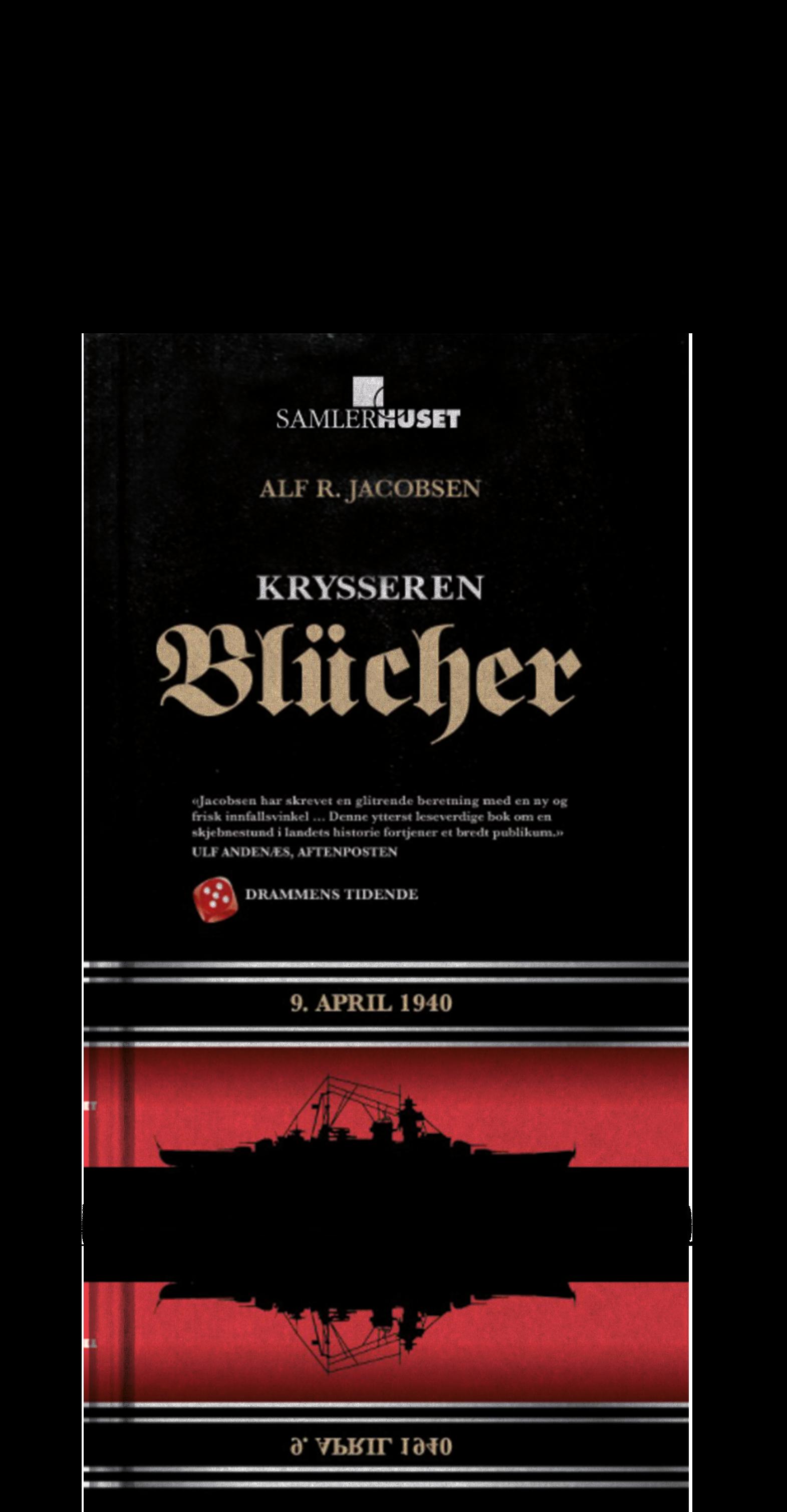 """Boken """"Krysseren Blücher"""" - nå til KUN 99 kr!"""