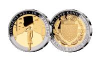 Kongens Nei medalje med gull og platina
