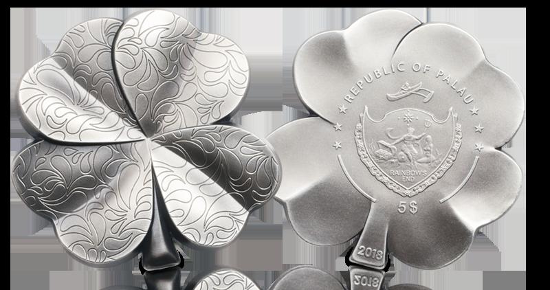Lykkemynt i 99,9% sølv