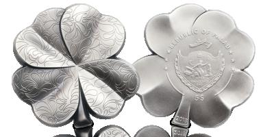 Lykkemynt i sølv