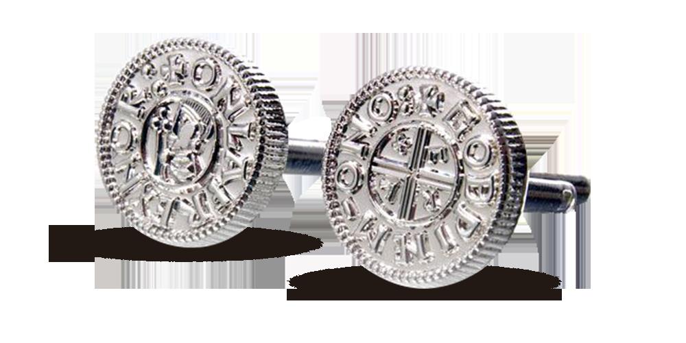 Mansjettknapper med Tryggvasson penningen