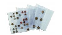 Gjennomsiktige myntark til NUMIS album