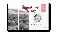 Myntbrev D-dagen 75 år
