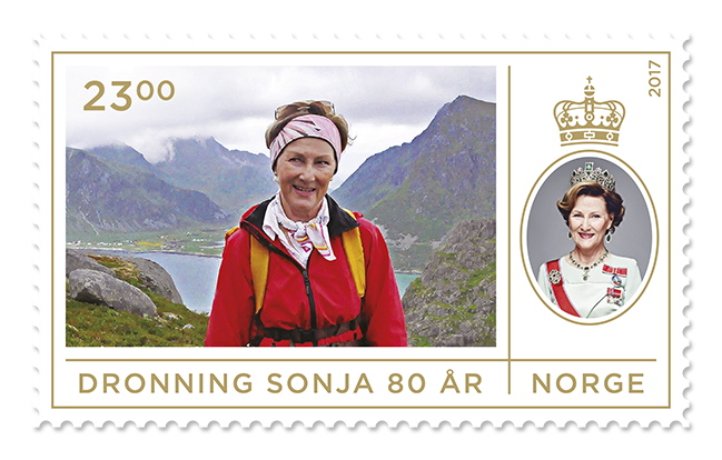 Dronning Sonja Frimerke
