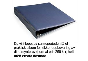 Myntbrev album