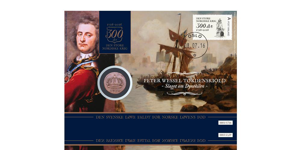 Myntbrev med 300 år gammel krigsdaler