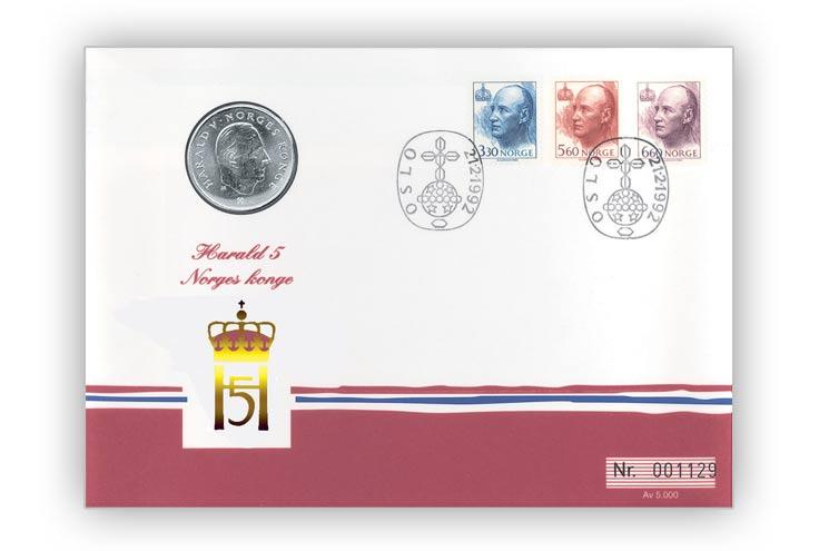 Myntbrev nr. 3: Harald V Norges Konge