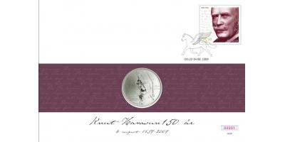 Myntbrev nr. 137: Knut Hamsun 150 år