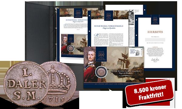 Komplett samling myntbrev - kun få igjen:
