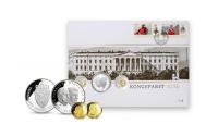 Myntbrev Kongeparet 80 år