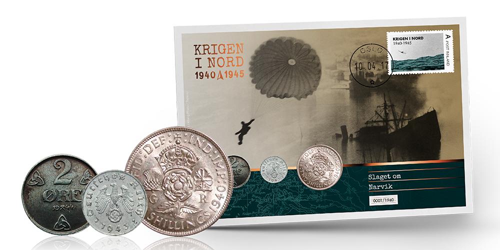 NYHET: Hitlers første nederlag på myntbrev