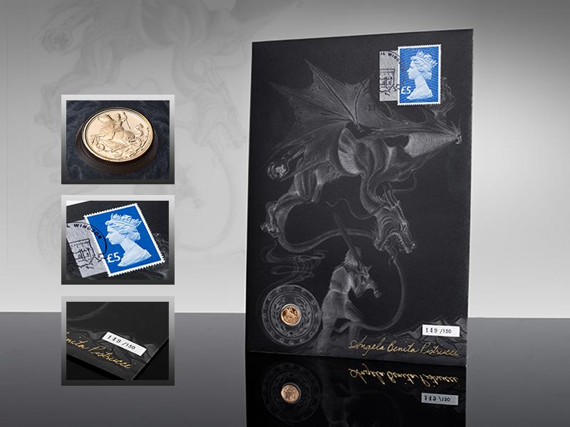 Myntbrev Myntikonet Sovereign 200 år