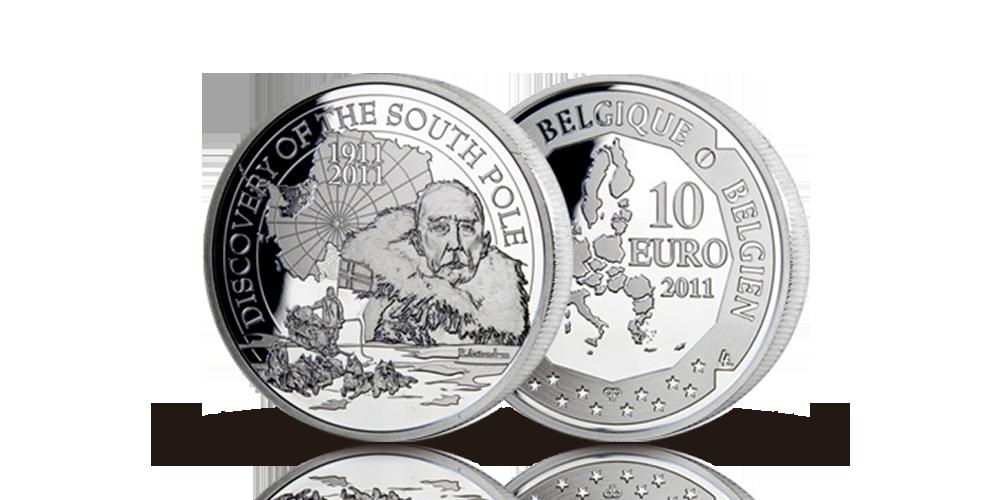 Amundsen minnemynt 10 euro