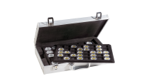 Myntkoffert med plass til 190 mynter
